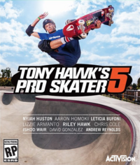 Game Cover Tony Hawk's Pro Skater 5