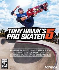 Game Cover Tony Hawk's Pro Skater 5