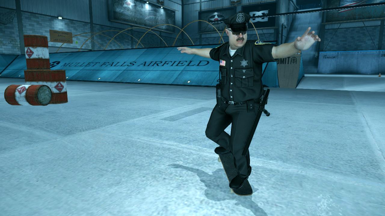 Officer Dick di game Tony Hawk's Pro Skater 1 + 2
