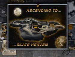 THPS2 skate heaven load screen