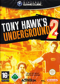 Game Cover Tony Hawk's Underground 2