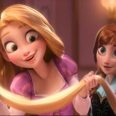 Do you have magic hair? ~Rapunzel to Vanellope