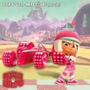 Wreck-It Ralph Taffyta Muttonfudge