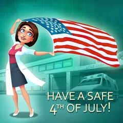 Have a Safe 4th of July! Kelly Chen was in the concert yesterday, singing Let's Celebrate!