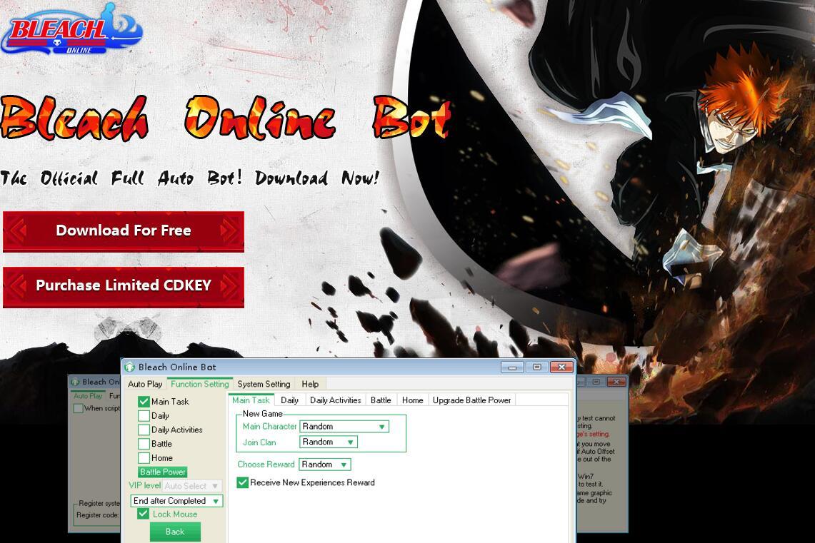 Bleach Online Bot | Toolwagon Game Helper Wikia | FANDOM