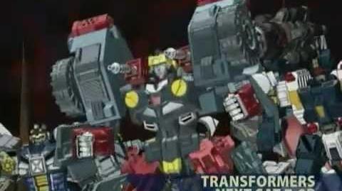 Transformers Cybertron 2007 Toonami Marathon Promo