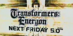 Transformers Energon Marathon