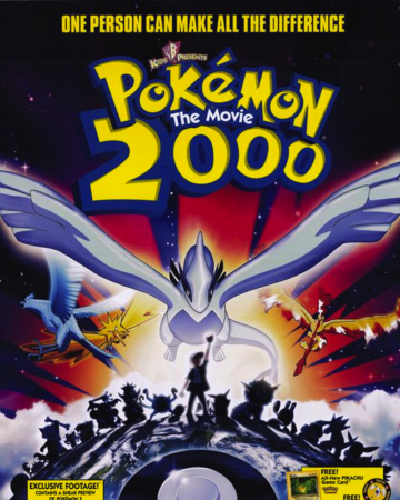 Pokemon The Movie 2000 The Power Of One Toonami Wiki Fandom