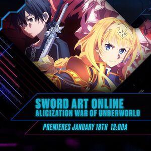 War of Underworld Toonami