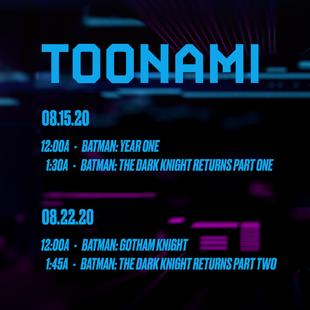 Toonami DCFandome Batman Movie