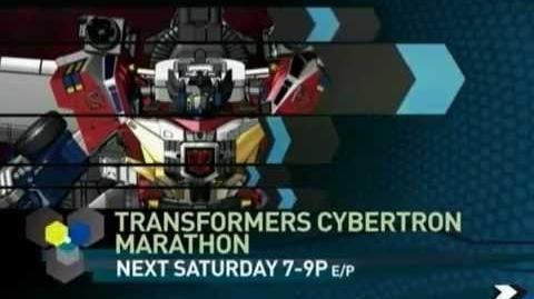 Transformers Cybertron 2007 Toonami Marathon Short Promo