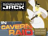 Samurai Jack in Cavern Raid