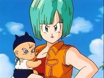 Bulma & Baby Trunks