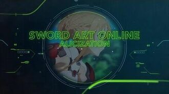 Sword Art Online Alicization - Toonami Promo