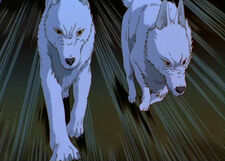 Moro's Pups (Princess Mononoke)
