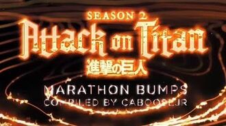 Attack on Titan Season 2 Marathon - Toonami Bumpers