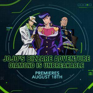JoJo's Diamond is Unbreakable