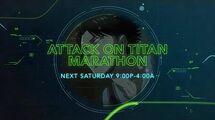 Attack on Titan S3 Marathon - Toonami Promo