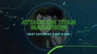 Attack on Titan S3 Marathon - Toonami Promo
