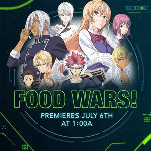Food Wars Toonami