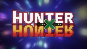 HunterxHunter Title Card