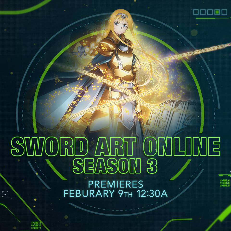 Sword Art Online: Alicization | Toonami Wiki | FANDOM powered by Wikia