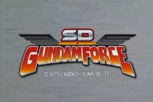 SD Gundam Title