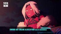 Sword Art Online Alicization Episode 32 - Toonami Promo