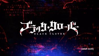 Black Clover Title Card