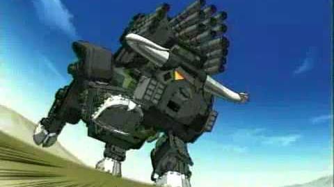 Zoids Chaotic Century Toonami Intro 1