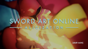 SAO Alicization Title Card