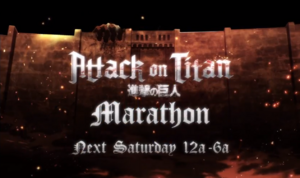 Attack on Titan Marathon Logo
