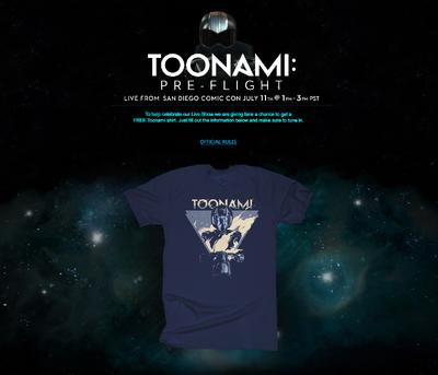 Toonami Preflight Giveaway