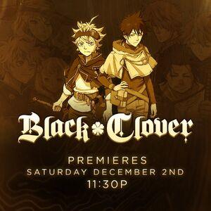 Black Clover Toonami