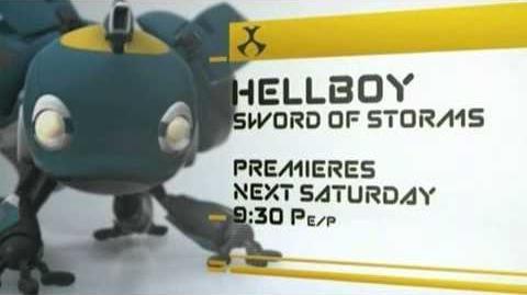 Hellboy Sword of Storms Short Toonami Promo