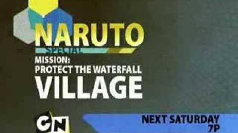 Naruto Mission Protect the Waterfall Village Toonami Promo