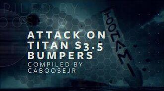 Attack on Titan Season 3 Part 2 - Toonami Bumpers
