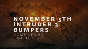 Intruder 3 - Week 1 Toonami Bumpers