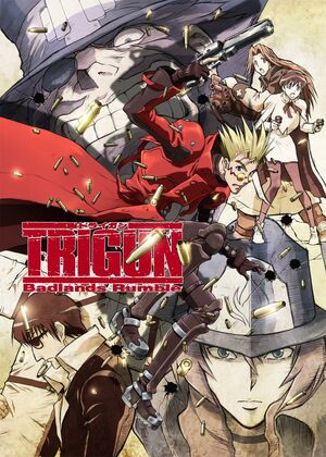 Trigun Badlands Rumble DVD