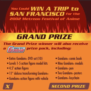 Midnight Run Bandai Sweepstakes