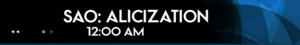 Schedule-SAO Alicization2