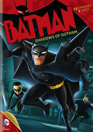 Beware the Batman DVD