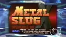 Metal Slug X - Toonami Game Review