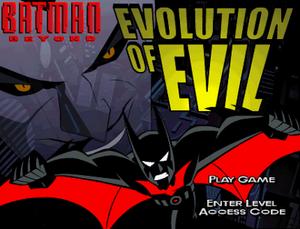 Batman beyond online game evolution evil casino cytech flash game