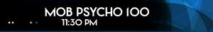 Schedule-Mob Psycho