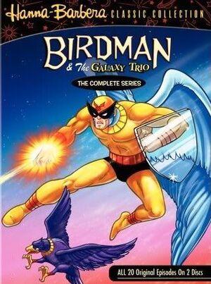 Birdman & The Galaxy Trio DVD Cover