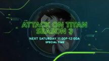 Attack on Titan S3 Hour - Toonami Promo