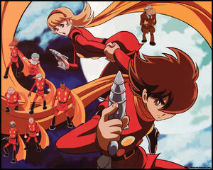 Cyborg 009 wall by chingorolo