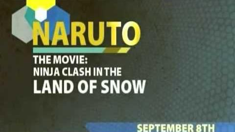 Toonami - Naruto Ninja Clash in the Land of Snow Short Promo