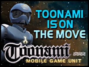 Toonami Mobile Game Unit